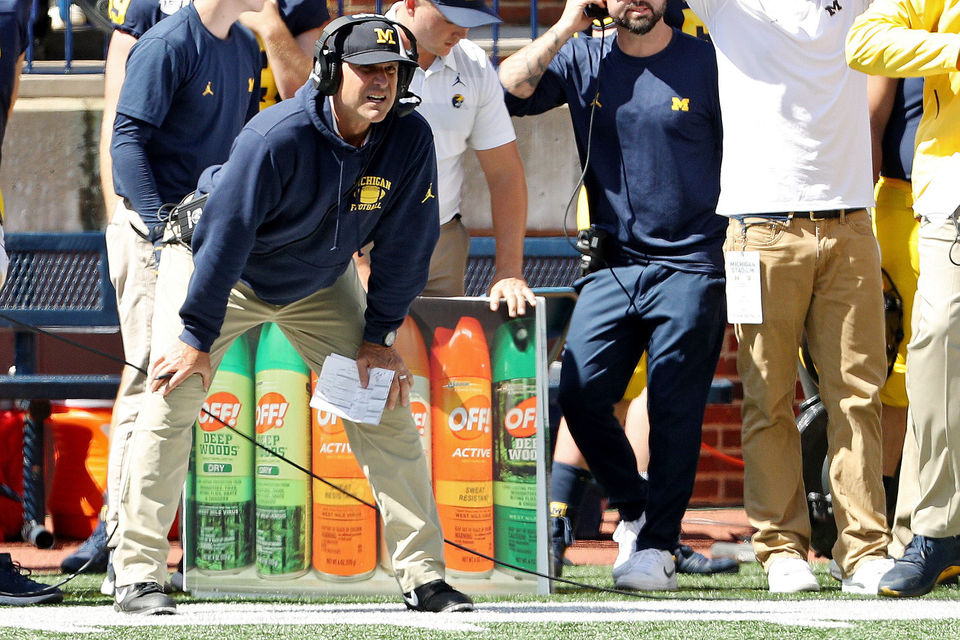 Jim Harbaugh and Michigan football: A by-the-numbers look at what's happened on the field