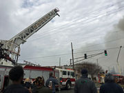 2 people rescued from large Treme fire, authorities say