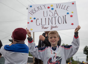 Clinton, N.Y. won the Kraft Hockeyville contest for the 'most hockey-est' town in America.