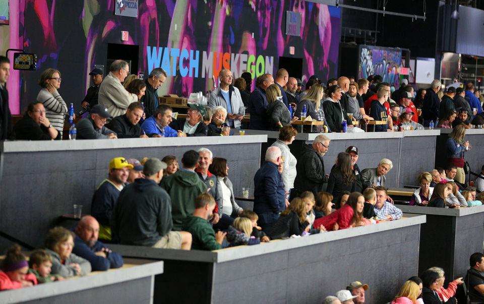 L.C. Walker Arena, Muskegon Lumberjacks giving off fresh, new vibe
