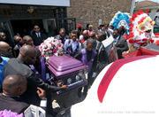 Hundreds gather to celebrate the life of Keeven Robinson, who died in JPSO custody