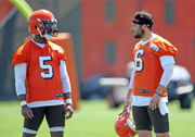The Browns are handling quarterback the right way and 22 other things we learned during minicamp