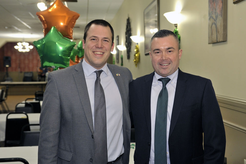 Seen@ Councilman Brian Clune's 5th annual Irish Night in West Springfield