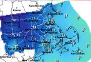 Coldest temperatures of the season, isolated snow showers move into Massachusetts