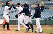 Syracuse Chiefs no-hitter starts with coffee, a hot shower and survives a bloody bunt