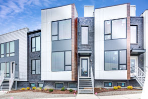 "CLEVELAND, Ohio -- When it comes to lakefront living, it's all about views, views, views. Battery Park's latest phase of townhomes deliver those priceless views and combines them with a level of luxury previously unavailable in the neighborhood at this price point. With prices starting at $399,000, each unit comes with high-end touches such as floating stairwells with walls of glass, quartz countertops, hardwood floors, and stainless steel appliances. ""Our premium units are slightly higher in price (in the $470's) and have even more panoramic, unobstructed views of the lake-- unheard of at this price point in the city,""  says listing agent Ted Theophylactos of Ted & Co. Cleveland Real Estate Howard Hanna. ""There's even a bar included on the roof deck level so you can serve drinks to guests while they stare at Lake Erie."" The 2,011-square foot townhomes offer 2 bedrooms and 2.5 bathrooms, plus a bonus room on the ground floor adjacent to the two-car garage. Several layouts are available and each home comes with interior designer services included so that buyers can customize their home to match their style.  ""Battery Park is one of the most popular locations on the near west side and is very well known throughout the region,"" Theophylactos says. ""A 15-year tax abatement makes this luxury lifestyle more obtainable."""