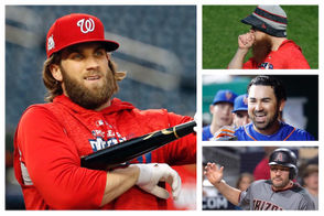 It seems like every day we get another new wrinkle in the saga of unsigned free agents Bryce Harper and Manny Machado. There was more news Wednesday on both. The latest MLB news and rumors also includes updates on former popular Mets infielder Wilmer Flores plus Adrian Gonzalez, Craig Kimbrel and Nick Markakis, among others. Also, the Yankees made a minor trade. Here is the latest: