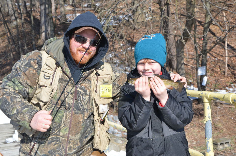 Trout Fishing Season Opens For 2018 With Mentored Youth
