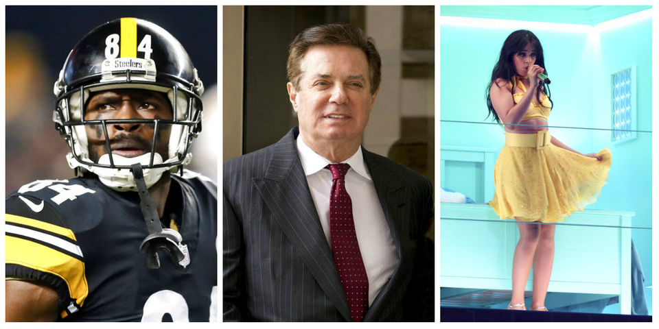 Antonio Brown trade rumors, Paul Manafort's sentence, Cabello song #1 & more: What's trending today