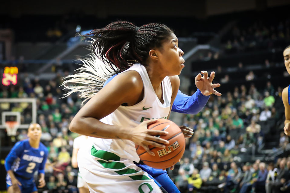 Oregon women's basketball holds steady at No. 3 in AP poll