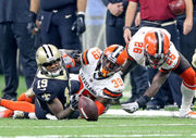 Saints offense not pleased with 'really sloppy' performance