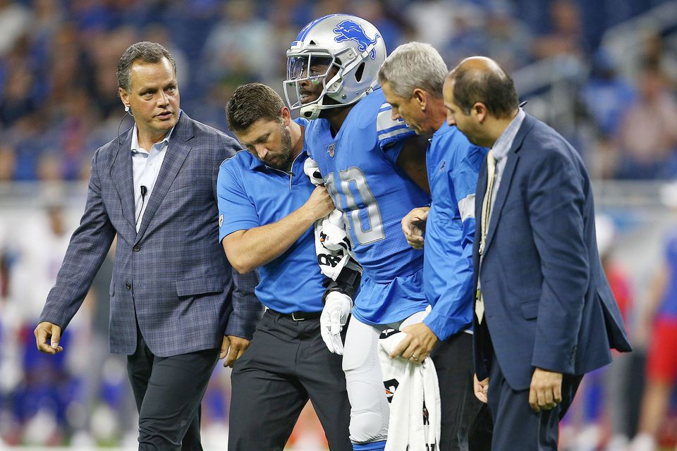 Key injuries leave Lions fans cursing existence of NFL's preseason