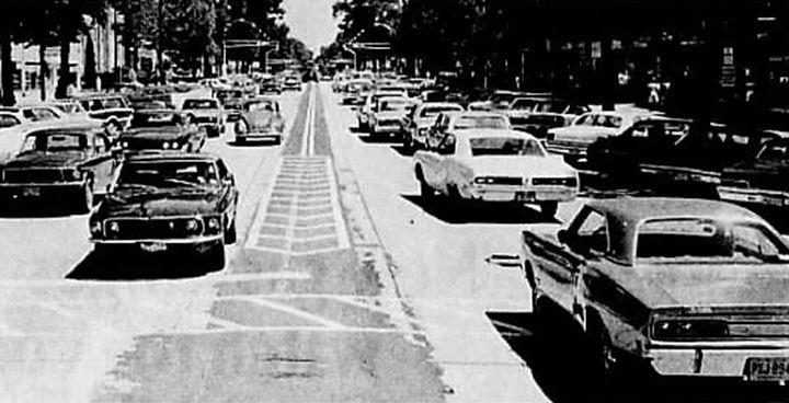 Vintage photos of street scenes in N.J.