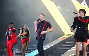 The a cappella group Pentatonix performed Thursday, Aug. 23, 2018, at Lakeview during the NYS Fair.