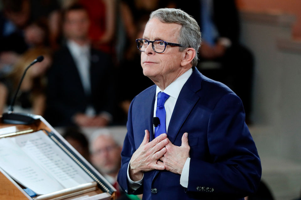 Here are the salaries for Gov. Mike DeWine's top staff — and how they compare to John Kasich's