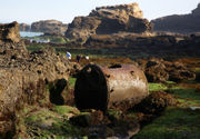 Shipwrecked boiler a hidden treasure on the Oregon coast