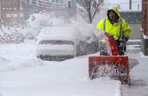 A massive storm brought snow, sleet, and freezing rain to the Southern U.S. on Dec. 9, 2018.