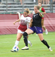 UMass women's soccer falls to Holy Cross in exhibition matchup (photos)
