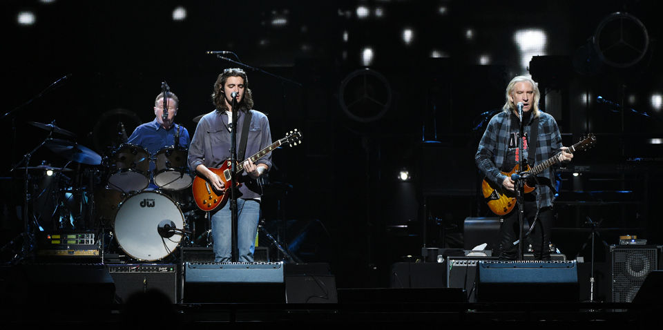 Eagles play to a packed house at the BJCC in Birmingham. (Joe Songer | jsonger@al.com).