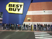Connecticut shoppers line up on Thanksgiving for early Black Friday bargains