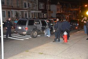 Two people were shot on Friday night, freelance photographer Joe Shine was at the scene.