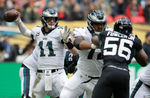 Eagles beat Jaguars in London | 7 observations