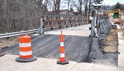 Traffic flowing once again on Alpenhorn Street thanks to temporary bridge