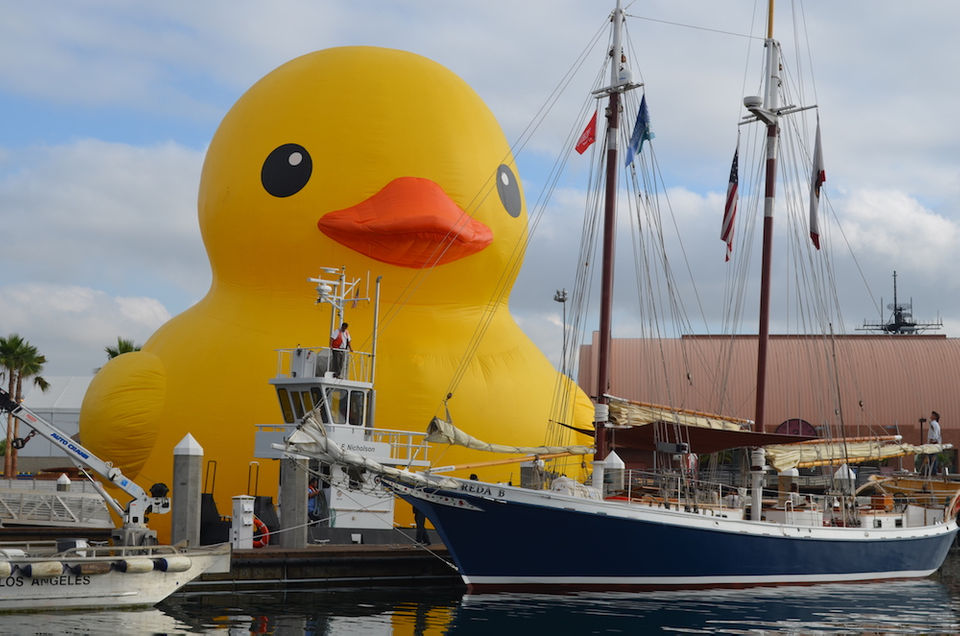 The World S Largest Rubber Duck Is Coming To Ohio This