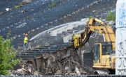 Demolition begins on 78-year-old Akron Rubber Bowl (photos, video)