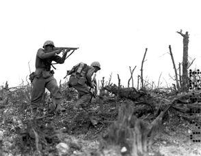 "INDEPENDENCE, Ohio – Okinawa was the last major battle of World War II, with more than 200,000 combatants and civilians killed in 81 days of mud, blood and carnage. Some  180,000 U.S. Army and Marine troops fought 130,000 Japanese defenders  from April through June of 1945 for control of an island that would  provide airfields for an anticipated American invasion of Japan. One of those Okinawa Marines, Charles Voland, 93, of Independence, who had been previously wounded in the invasion of Peleliu, was recently asked if he'd do it again. Voland softly replied, ""No, no, no. I wouldn't. I lost too many buddies."""