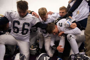 Division 5 state semifinal game between Hudsonville Unity Christian and Saginaw Swan Valley on Saturday, Nov. 17, 2018