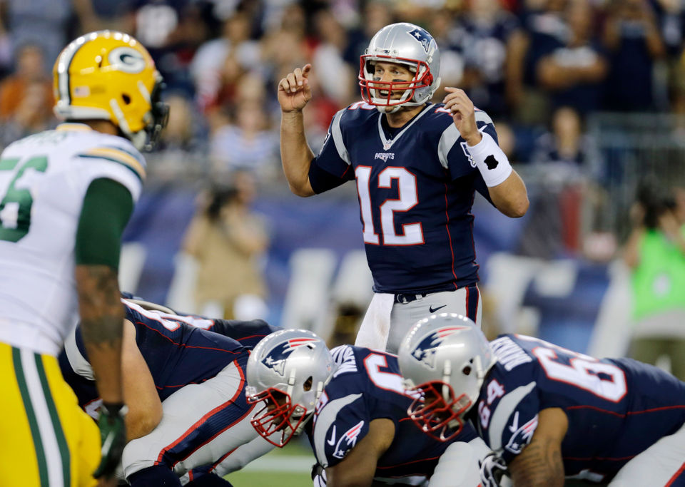 Patriots Offense Vs Packers Defense