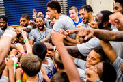 Kyle Kuzma's free camp about more than basketball for Flint-area kids