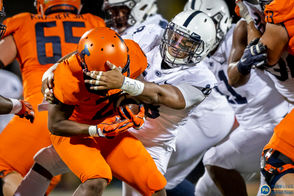 Penn State pulled away from Illinois in the third quarter to win going away, 63-24.