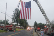 Lehigh Valley procession honors fallen firefighter (PHOTOS)