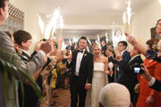 Weddings in New Orleans and Mexico -- not a problem for this romantic couple