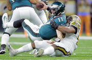 8 Eagles no-shows in lopsided loss to New Orleans Saints: Carson Wentz, Nelson Agholor, Brandon Graham