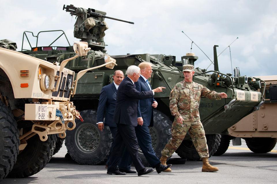President Trump visits Fort Drum, Utica: Photos, speeches