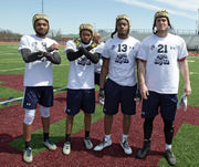 First Big 33 practice session complete, Penn State recruit Brandon Clark added to Pa. roster
