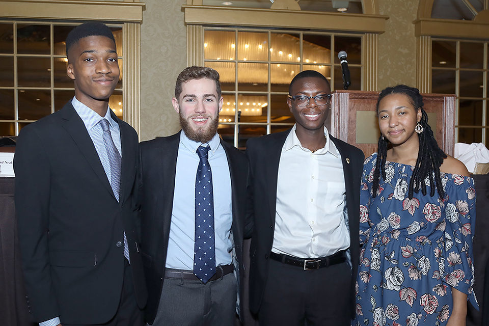 The 37th Annual Dr. Martin Luther King Jr. Memorial Scholarship Breakfast took place at the Springfield Sheraton Hotel