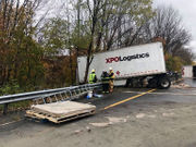 Tractor-trailer rollover, spill causes traffic mess on I-80 East in N.J.