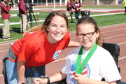 Special athletes get their chance to shine at Bobby Nuss Stadium