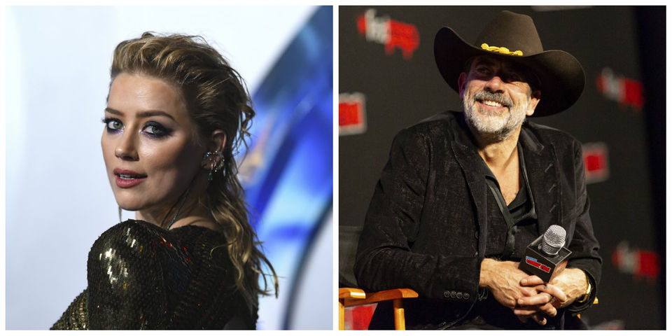 Today's famous birthdays list for April 22, 2019 includes celebrities Amber Heard and Jeffrey Dean Morgan