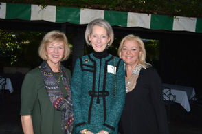 Carol York, left, with Roxi St. Martin, center, and Colleen McLeod.