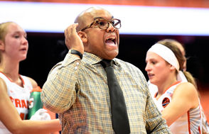 The Orange takes on the Lady Hawks on Wednesday, Dec. 5, 2018, at the Carrier Dome in Syracuse, N.Y.