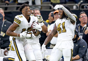 The Saints clinched back-to-back NFC South titles with last week's win against Tampa Bay. Carolina has lost five straight, and are one of three teams who are a half-game behind Minnesota for the No. 6 seed in the playoffs. Per play, few offenses have been as explosive as Carolina's this season. The Panthers lead the NFL in rushing yards per play (5.4) and rank No. 10 in passing yards per play (6.44). Carolina's struggle this season has often been linked to turnovers and the defensive side of the ball, particularly in situational football. The Panthers rank No. 25 in defensive third down percentage (40.7 percent) and next to last in red zone defense (74.4 percent). During its five-game losing streak, Carolina has a negative-6 turnover margin. The Saints finished Week 14 as the NFL's only team to have two 500-yard rushers (Alvin Kamara and Mark Ingram) as well as a 1,000-yard receiver. The trio has combined for 3,257 yards from scrimmage this season, or 63.2 percent of the Saints team total.
