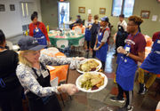 Great Thanksgiving Banquet serves hundreds at Springfield Rescue Mission (photos, video)