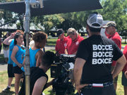 Movie set behind-the-scenes: 'Team Marco' films in South Beach