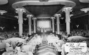 For one night, the Blue Room at the Roosevelt hotel lives again