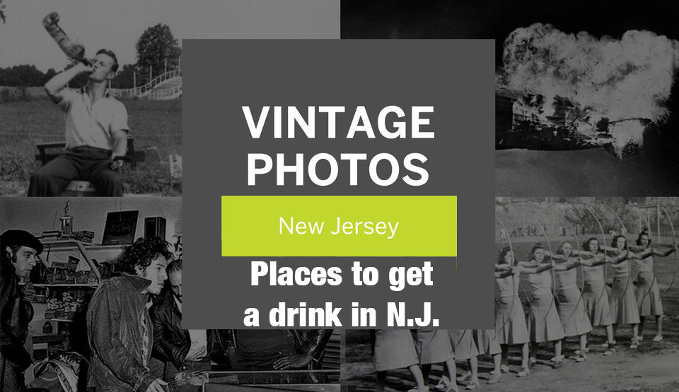 Vintage photos of places to get a drink in N.J.
